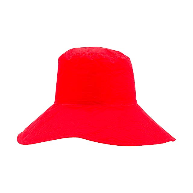 Shelly sluneční klobouk - červená