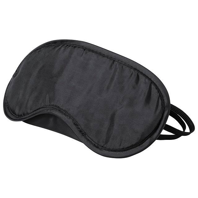 Asleep cestovní oční maska - čierna
