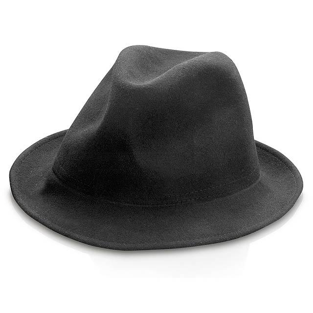 Boccaccio klobouk - černá