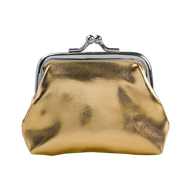 Liz peněženka - zlatá