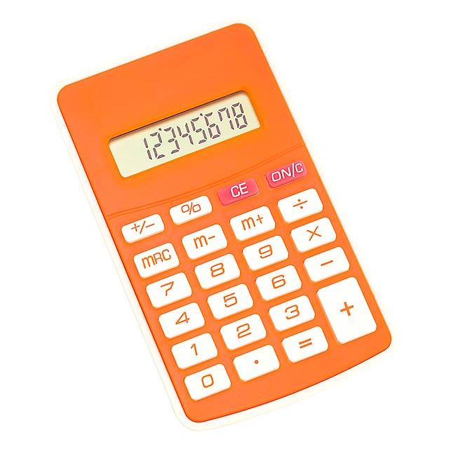 Result kalkulačka - oranžová