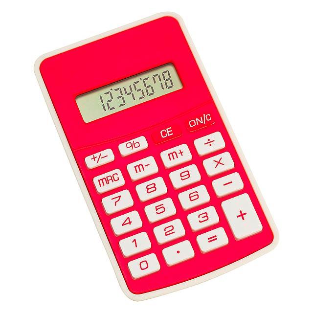 Result kalkulačka - červená