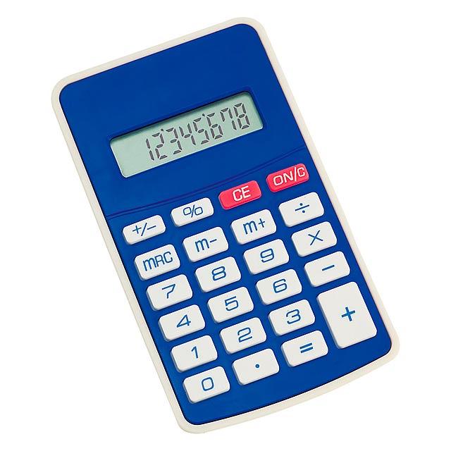 Result kalkulačka - modrá