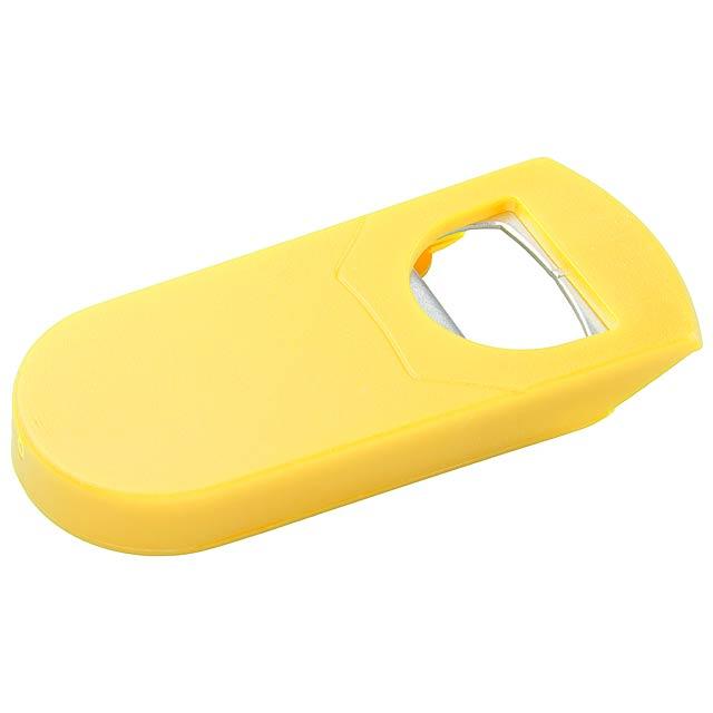 Kyo otvírák na láhve - žlutá
