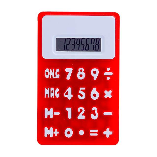 Rollie kalkulačka - červená
