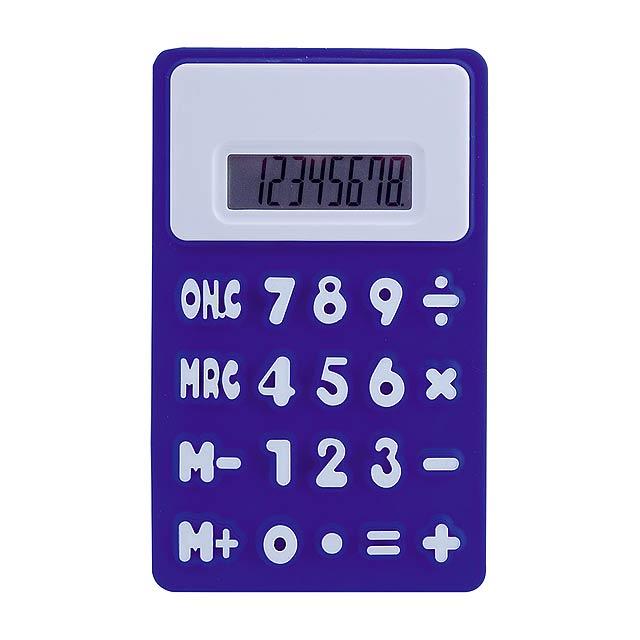 Rollie kalkulačka - modrá