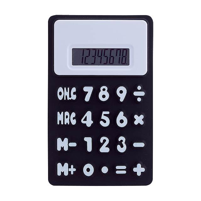 Rollie kalkulačka - čierna