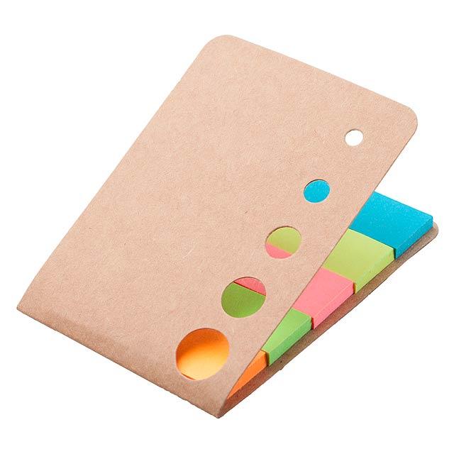 Sticky notepad - beige