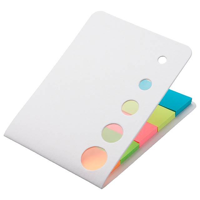 Sticky notepad - white