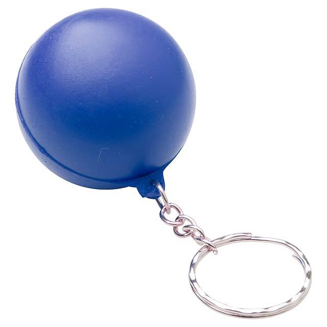 Calm antistresový přívěšek na klíče - modrá