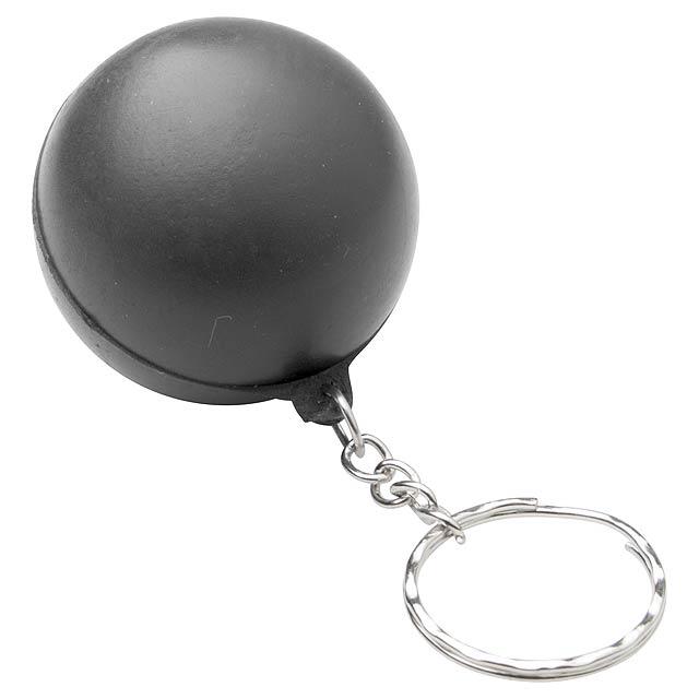 Calm antistresový přívěšek na klíče - černá