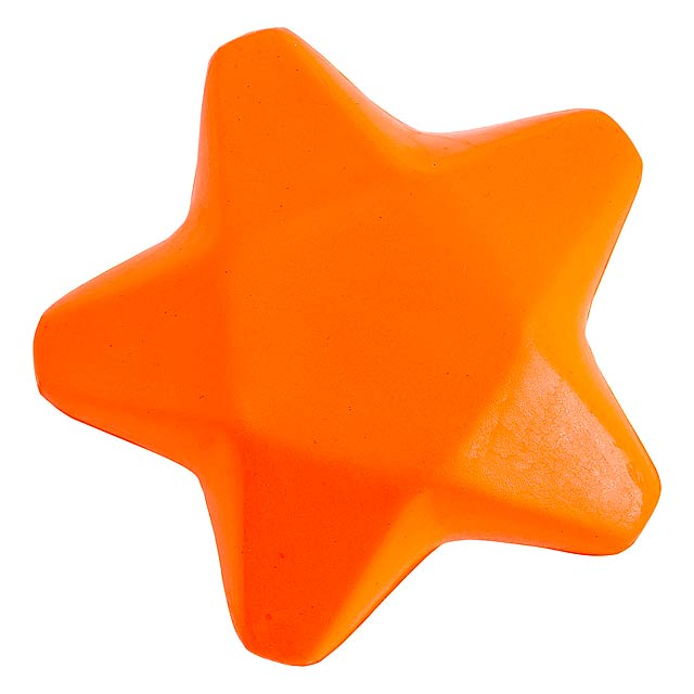 Ease antistresová hvězda - oranžová
