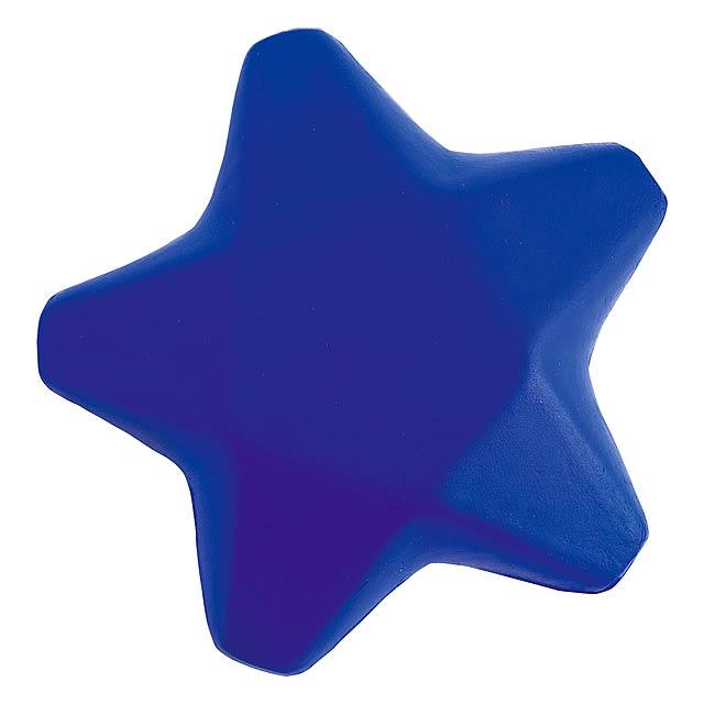 Ease antistresová hvězda - modrá