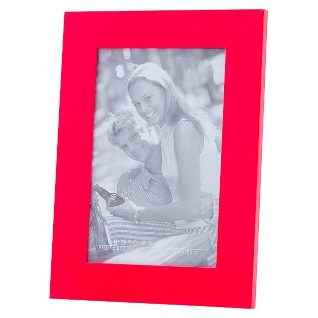 Stan fotorámeček - červená