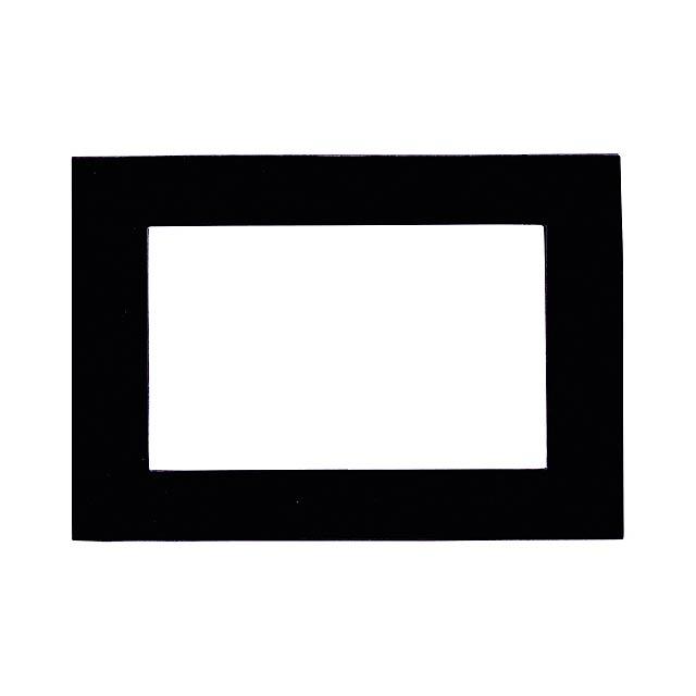 Magneto fotorámeček - černá