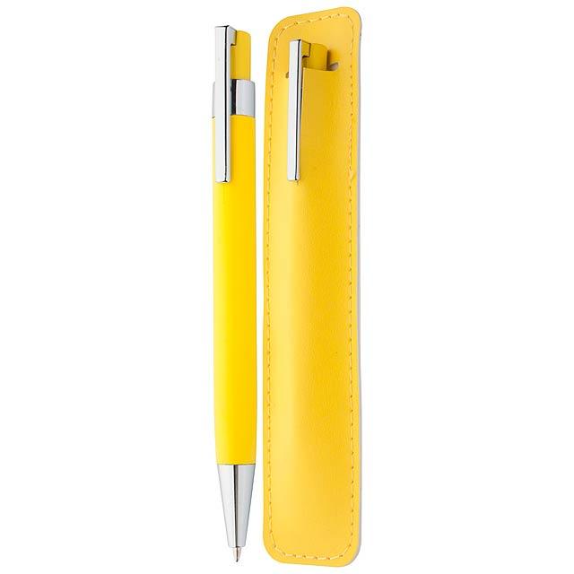 Servan kuličkové pero - žlutá