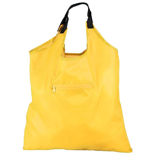 Kima skládací nákupní taška - žlutá