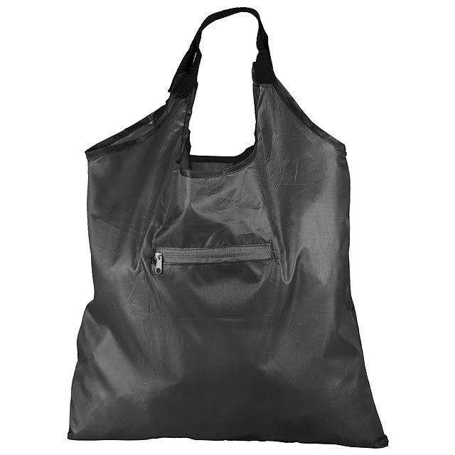 Kima skládací nákupní taška - černá