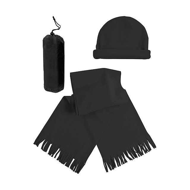 Estepa zimní set - černá