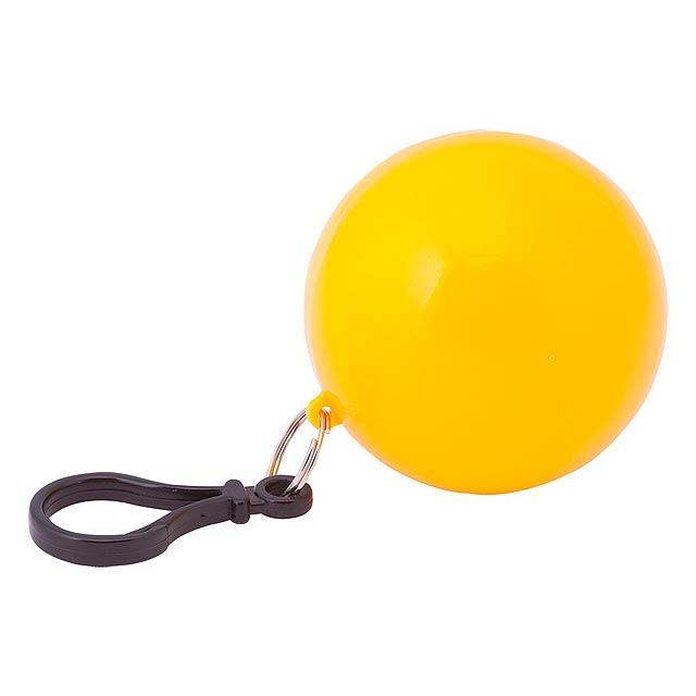 Storm přívěšek pláštěnka - žlutá