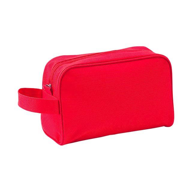 Trevi kosmetická taštička - červená