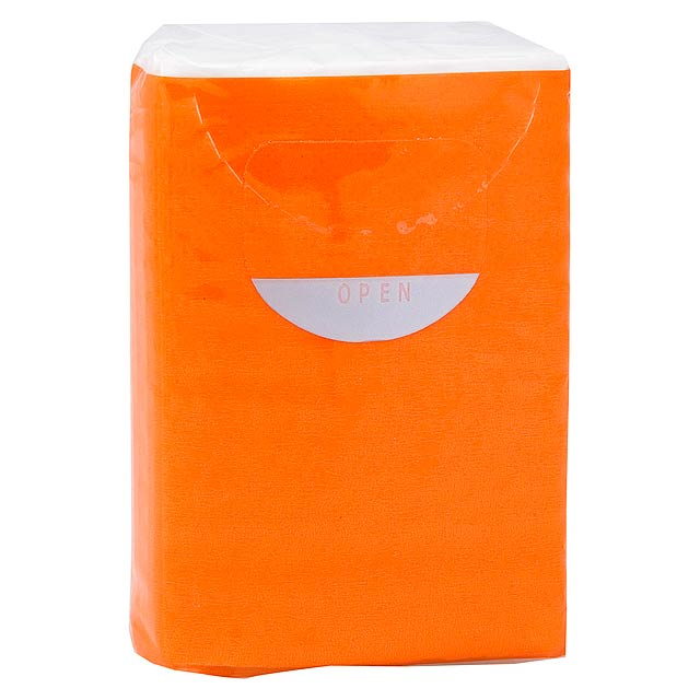 Tissues - orange