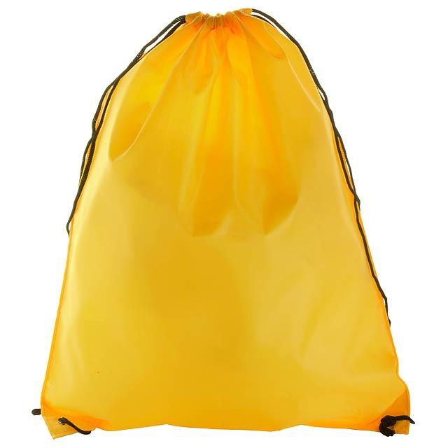 Spook vak se stahováním šnůrkou - žlutá