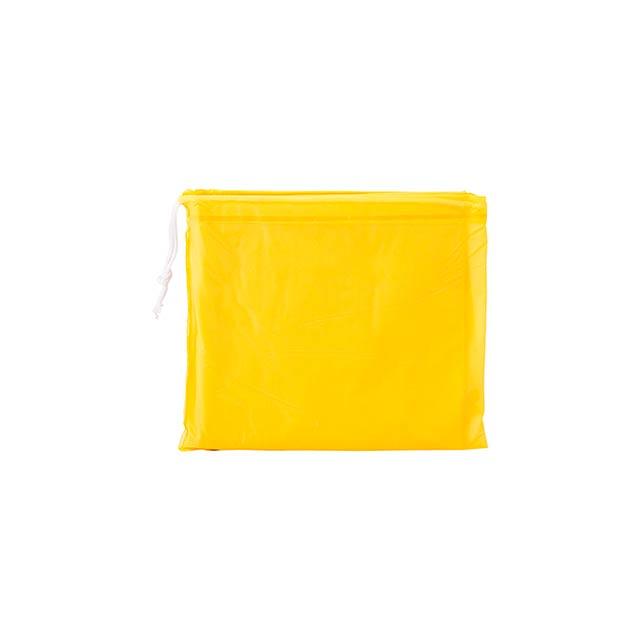 Teo dětská pláštěnka - žlutá