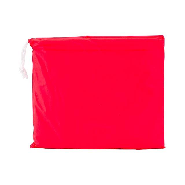 Teo dětská pláštěnka - červená