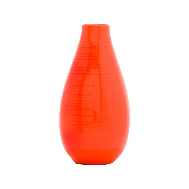 Celane váza - oranžová