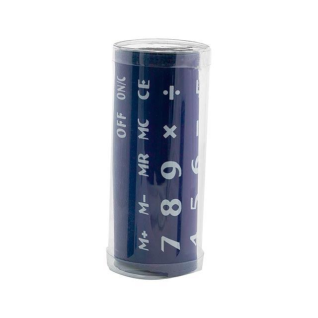 Roll ohebná kalkulačka - modrá