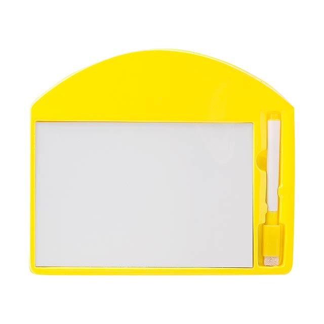 Learning tabulka - žlutá