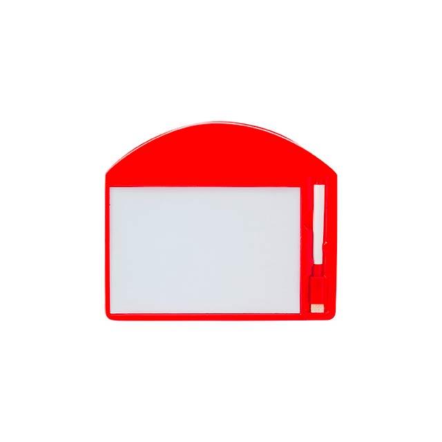 Learning tabulka - červená