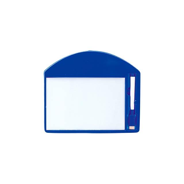 Learning tabulka - modrá