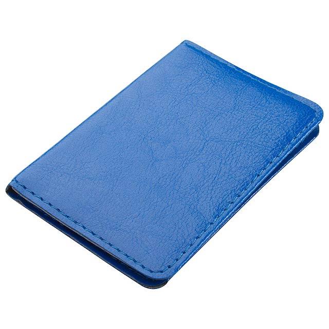 Twelve pouzdro na karty - modrá