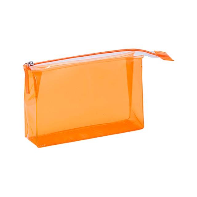 Lux kosmetická taška - oranžová