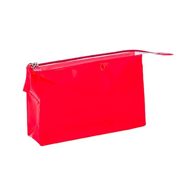 Lux kosmetická taška - červená