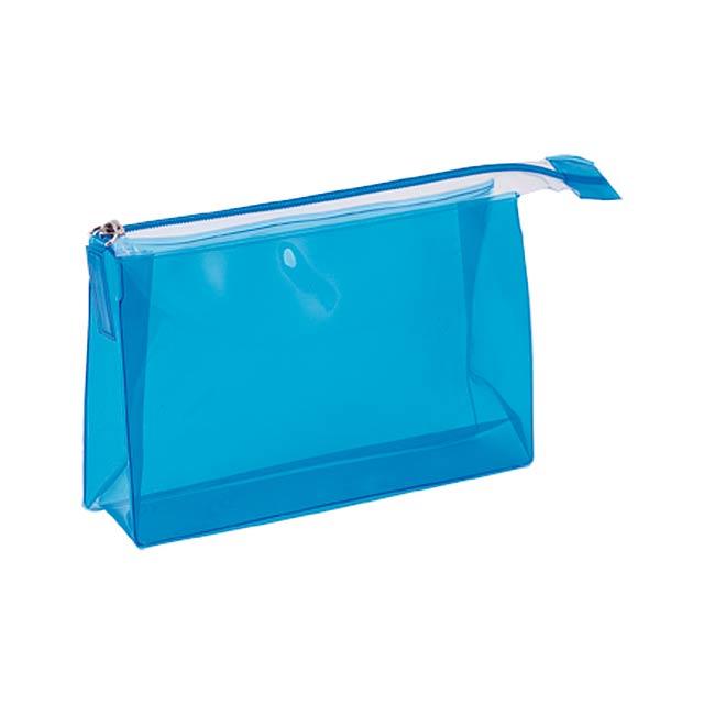 Lux kosmetická taška - modrá