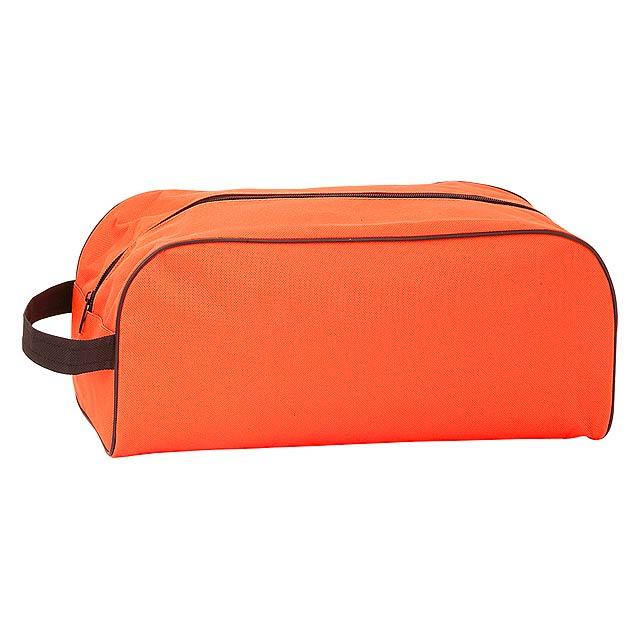 Pirlo taška na boty - oranžová