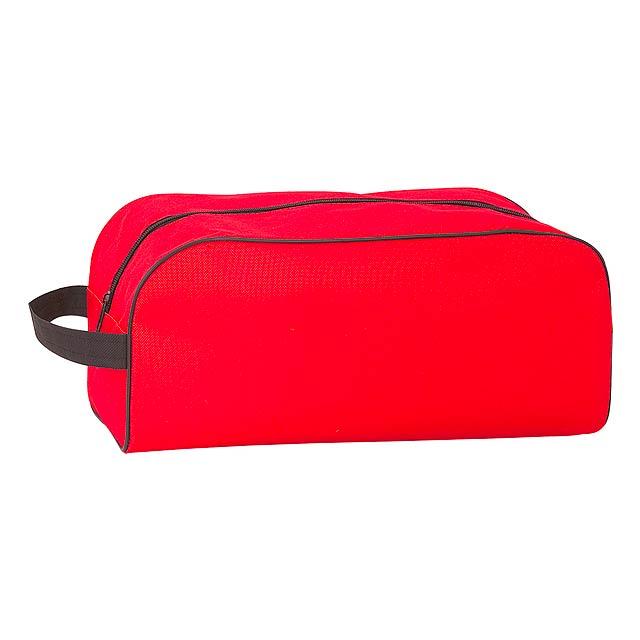 Pirlo taška na boty - červená