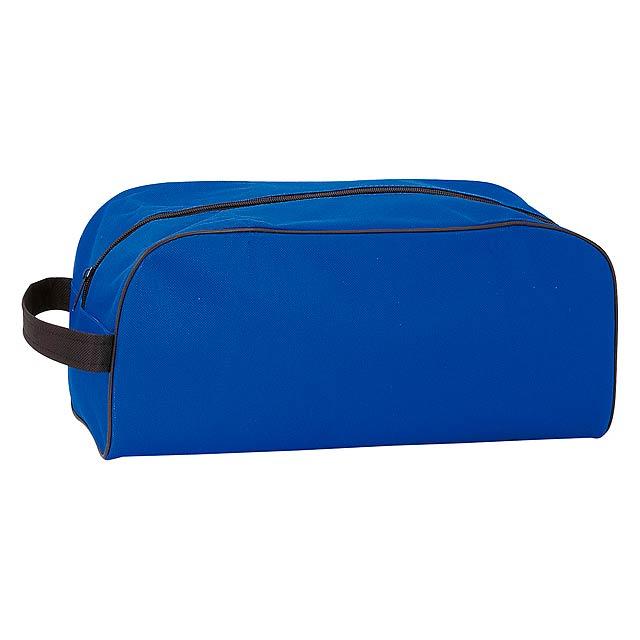 Pirlo taška na boty - modrá