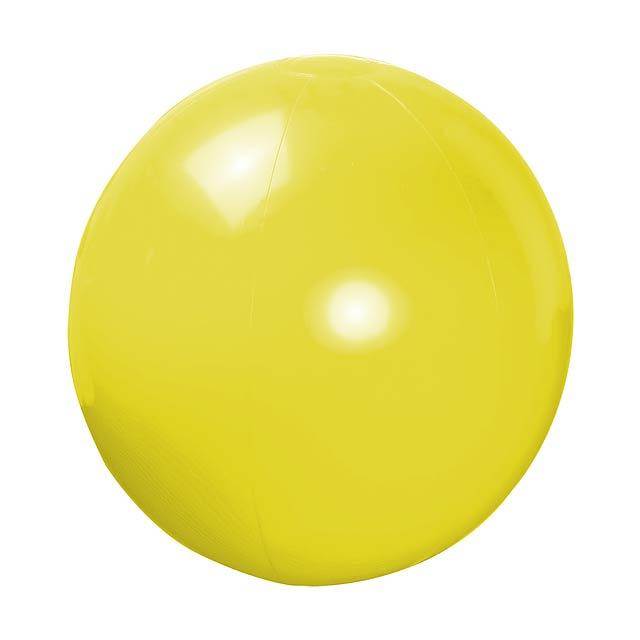 Magno plážový míč (ø40 cm) - žlutá