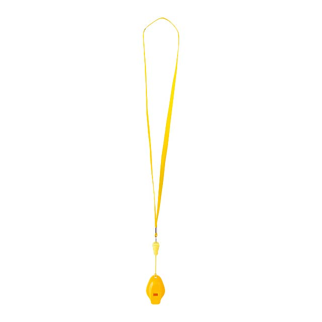 Colina píšťalka - žlutá