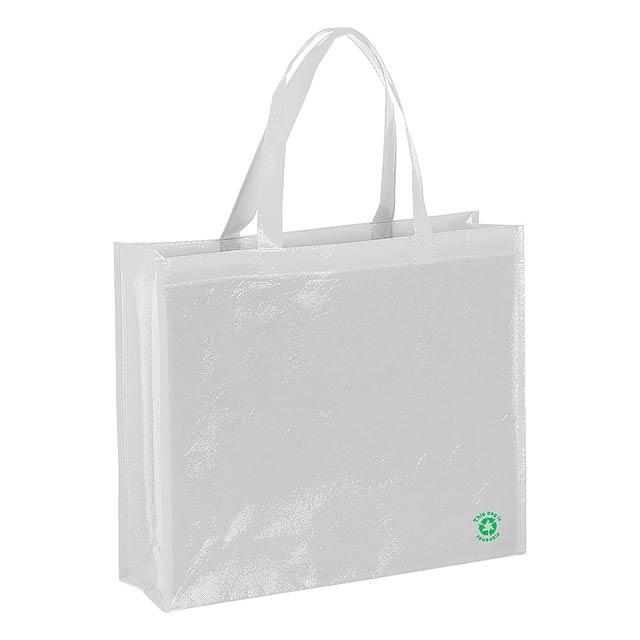 Flubber nákupní taška - bílá