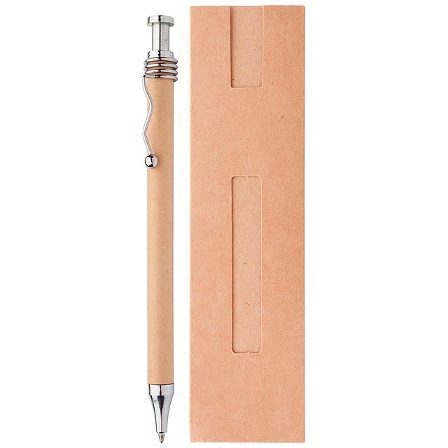 Natura kuličkové pero - béžová
