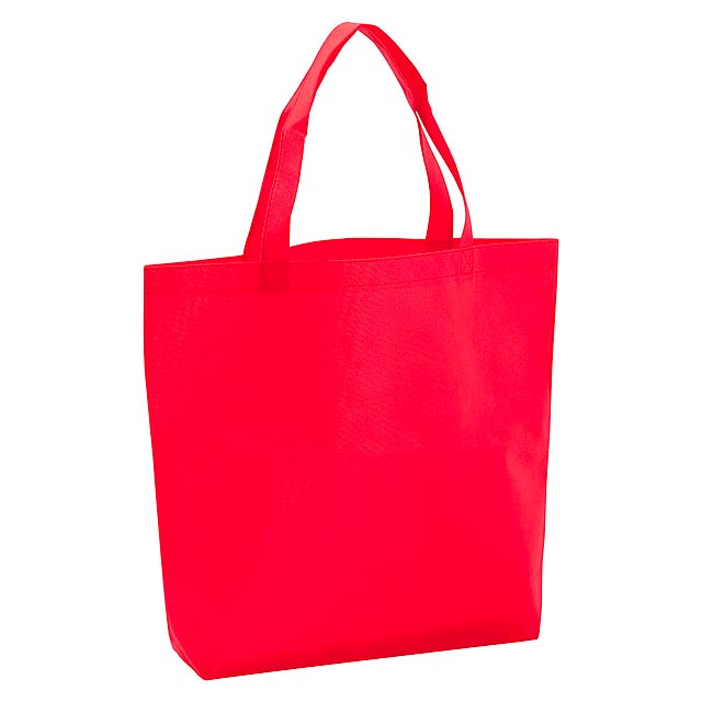 Shopper taška - červená