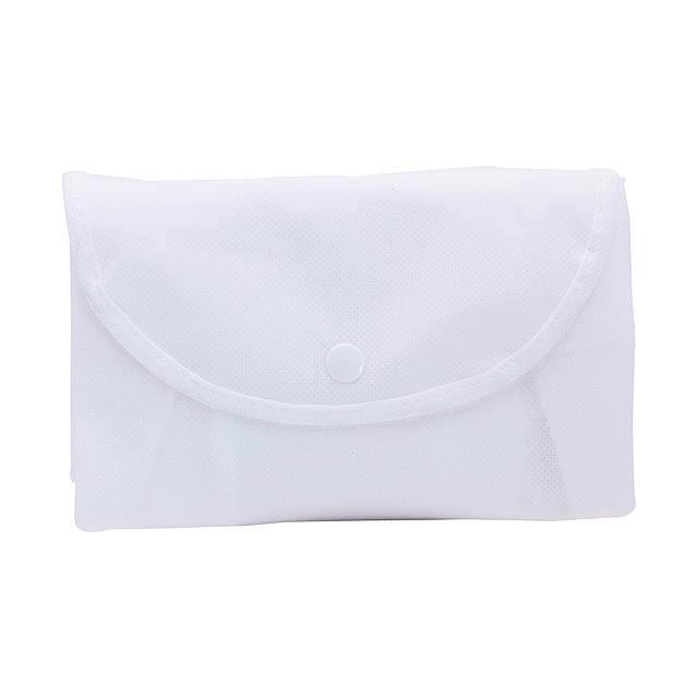 Austen skládací taška - bílá