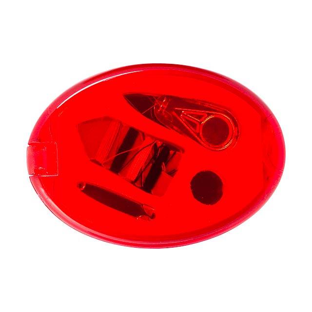 Lira šití - červená