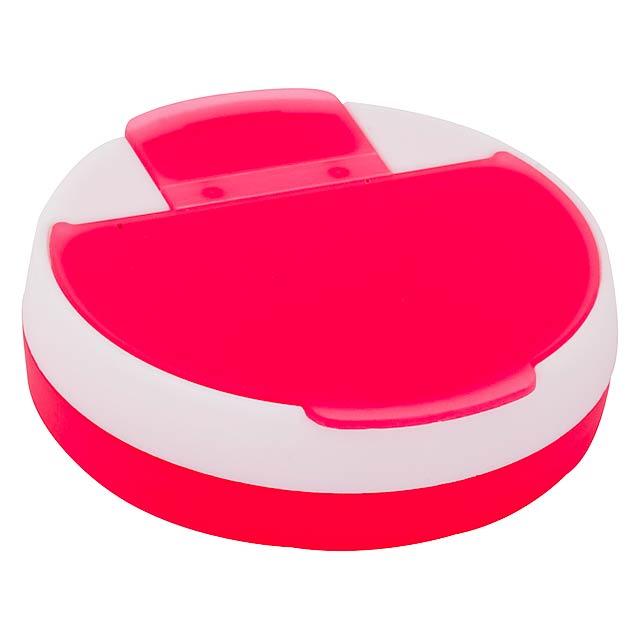 Pillendose - Rot
