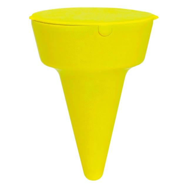 Cleansand popelník na pláž - žlutá